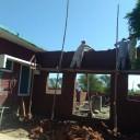 Fotos von der Baustelle – Patty's Child Clinic in Mianwal Ranjha nimmt Formen an